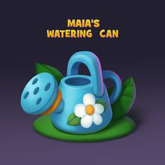 2d Game Art, Affinity Designer, Game Icon, Game Ui, Watering Can, Robots, Adobe Illustrator, Objects, Concept
