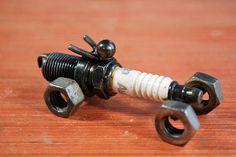 On Sale Motorcycle Spark Plug Motorcycle Recycled Metal