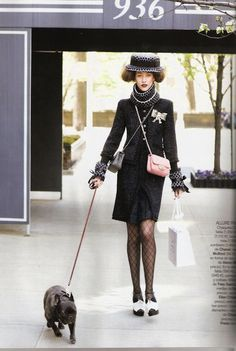 Chanel #caninecouture #dogs #fashion