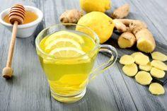 Lemon and ginger tea - detox minceur Tea Recipes, Healthy Recipes, Detox Recipes, Superfood, Ginger Drink, Fresh Ginger, Ginger Syrup, Fresh Mint, Maple Syrup