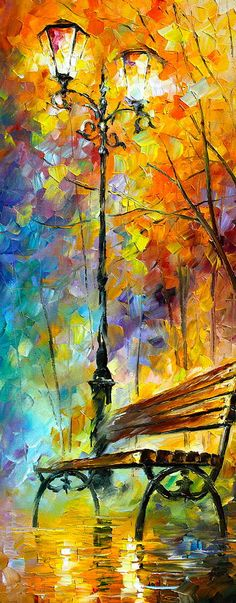 Aura Of Autumn 2 Painting  - Aura Of Autumn 2 Fine Art Print