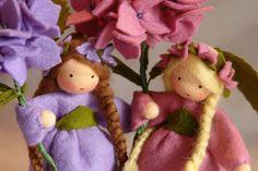 Hydrangea - Flower Child - Waldorf Inspired - Nature Table