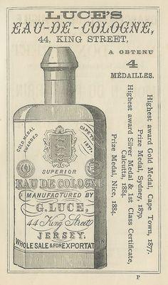 Vintage Ephemera: perfume