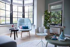 Femkeido | Monumentaal pand Apeldoorn Utrecht, Home Living Room, Interior Inspiration, Dining Chairs, Sweet Home, Design Ideas, Interiors, Colours, Interior Design