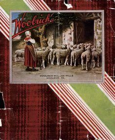 Vintage Woolrich Catalog Cover 1931 #vintage #woolrich1830