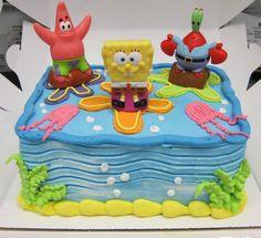 Cute Spongebob Birthday Cakes