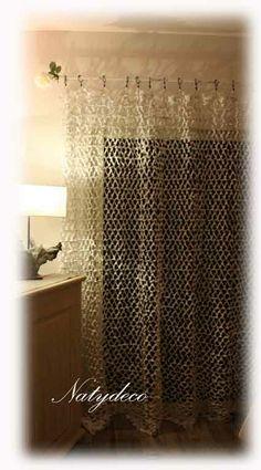 rideau de camouflage blanc  NATYDECO sur site http://www.natydecocorse.com