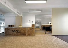 Online gaming company Aeria Games has moved their European-based team into a beautiful office space along the Spree River in Berlin. With interiors designed by Lindemann Projektnet, the office space has a pretty incredible look and feel.