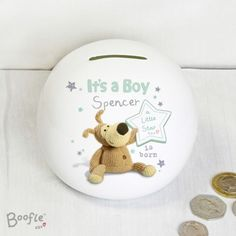 Personalised-Gifts-BOOFLE-New-Baby-Baby-039-s-1st-Christening-Boy-Girl-Gift