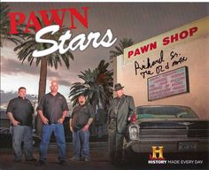 Pawn Stars = Las Vegas baby!