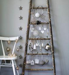 Weihnachts-Deko-Leiter | https://www.homify.de/projekte/23284/christmas-range