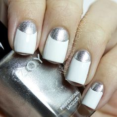 White #nails for Newtown, CT #nailpolish #nailart #thenailnetwork #bbcoalition #beautybloggers