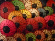 Night Market @Luang Prabang @Laos #colorful #shadow