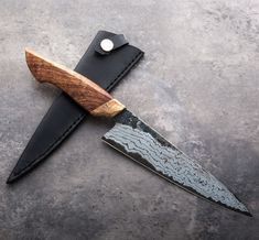 Australian Blackwood Gyuto 178mm handmade chef knife by Jelle Hazenberg.