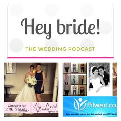 Catching up with my favorite podcast: http://HeyBride.com @HeyBride Episode 12 interviews 2 Health Experts advising brides and grooms get into shape before their big day! #weddingfit #gettingfitforyourwedding  #healthtips #weddingfit #FitWed #weddingtips #weddingpodcast #heybride 