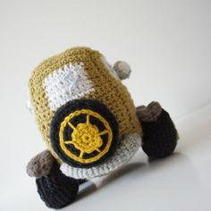 Hæklet (gangster) bil // Crochet car...
