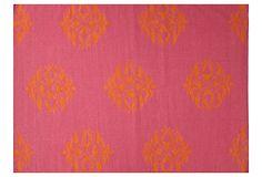 8'x10' Cajon Flat-Weave Rug, Fuchsia on OneKingsLane.com