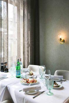 Restaurant Design, Restaurant Bar, Interior Concept, Interior Design, Italian Bar, Townhouse, Table Settings, Inspiration, Home