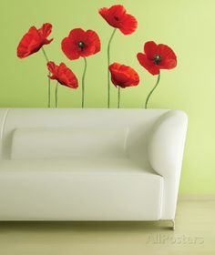 Poppies at Play Peel & Stick Giant Wall Decals Wall Decal http://www.allposters.com/-sp/Poppies-at-Play-Peel-Stick-Giant-Wall-Decals-Posters_i9078243_.htm
