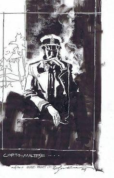 Corto Maltese di Bill Sienkiewicz