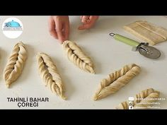 Turkish Recipes, Ethnic Recipes, Tahini Recipe, Pastry Art, Challah, Middle Eastern Recipes, Biryani, Dough Recipe, Pavlova