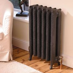 MHS Liberty Black Cast Iron Electric Thermostatic Radiator – Next Day Delivery MHS Liberty Black Cast Iron Electric Thermostatic Radiator from WorldStores: Everything For The Home