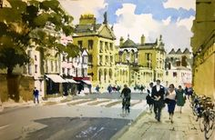 ~ John Yardley: Queens College, Oxford