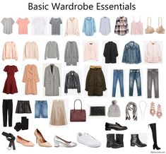 Basic Wardrobe Essentials on a Budget