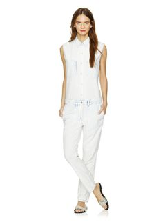 Discover what's new in women's clothing at Aritzia. Sweet Bags, Red Jumpsuit, Bleach, White Jeans, Cool Outfits, Capri Pants, Topshop, Clothes For Women, Community