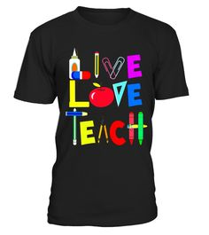 """# Live Love Teach - Funny Kindergarten Teacher T Shirt . Special Offer, not available in shops Comes in a variety of styles and colours Buy yours now before it is too late! Secured payment via Visa / Mastercard / Amex / PayPal How to place an order Choose the model from the drop-down menu Click on """"Buy it now"""" Choose the size and the quantity Add your delivery address and bank details And that's it! Tags: Funny and cute teachers teaching tshirt saying teacher of tiny humans makes a cool gift…"""