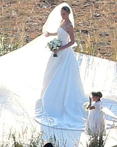 Kate Bosworth's Wedding to Michael Polish: Her Dress
