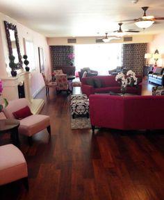 Wow, loving the beautiful updates to Alpha Epsilon's (Arizona) living room! Gorgeous! #GammaPhiBeta