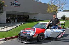 Our Founder Rob Morgan and His IMSA Cup car
