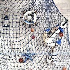 22 Ideas De Red De Pesca Red De Pesca Decoracion Nautico Decoración De Unas