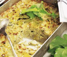 I den här gudomliga grönsakslimpan hittar du delikatesser som zucchini, cannellinibönor, vitlök, basilika och lyxig parmesan. Efter att ingredienserna får bekanta sig i ugnen får limpan en mumsig konsistens och makalös smak.