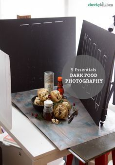 Essentials for Dark Food Photography — Brooke Lark The only 5 things you need to create a killer dark photography set-up.The only 5 things you need to create a killer dark photography set-up. Photo Hacks, Photo Tips, Dark Food Photography, Still Life Photography, Autumn Photography, Technique Photo, Foto Still, Fotografia Tutorial, Photo Food