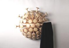 Dandelion Coatrack by Moissue