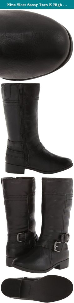 Nine West Sassy Tran K High Shaft Boot (Toddler/Little Kid), Black, 10 M US Toddler. Born on the streets of Manhattan in 1978, Nine West is a trusted global footwear authority. They passionately provide women & girls with quality, trendy, accessible shoes & accessories. Nine West satisfies a woman's ceaseless desire for affordable & chic footwear.