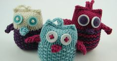 This Adorable Puff Owl Free Knitting Pattern is a cute decoration to add to your home. Make some now with the free patterns provided by the links below! Owl Knitting Pattern, Animal Knitting Patterns, Christmas Knitting Patterns, Crochet Toys Patterns, Knitting Blogs, Knitting For Beginners, Loom Knitting, Free Knitting, Knitting Projects