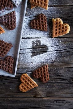 Recreate: Dinkel-Quark Waffeln
