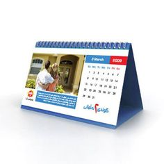 Landscape Calendars are easily suitable for tables and desk — at Satellite, Ahmedabad .
