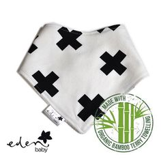 New design - Black Crosses! I just love this fabric! So bold and so versatile.