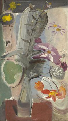 Ivon Hitchens July Flowers