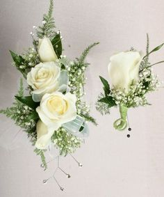 Package Rose Corsage & Boutonniere