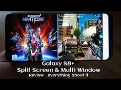 Galaxy S8+ Split Screen & Multi Window - Review - everything about it - Andrasi.ro
