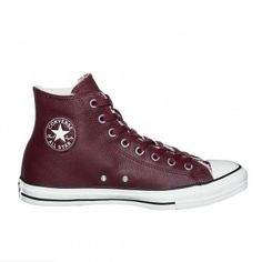 Converse Chuck Taylor All Star Leather Sneaker Padded High Bordeaux