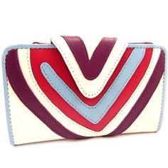 Multicolored leather wallet 'Agatha Ruiz De La Prada'white (). - http://bags.bloggor.org/multicolored-leather-wallet-agatha-ruiz-de-la-pradawhite/