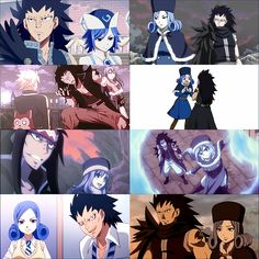 Gajeel and Juvia best friends from the beginning