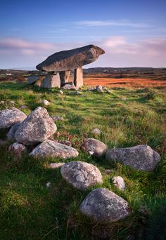 "Kilclooney Dolmen by Stephen Emerson, via 500px - ""This is one of Ireland's most spectacular dolmens in Co Donegal. Since it is not well-known, a visit to the Kilclooney dolmen is very peaceful and without the annoyance of the tour bus crowds that sometimes detract from visits to the more famous megalithic sites around the Ireland like the Burren."""
