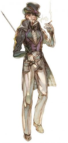 Sword of the New World: Granado Espada Concept Art #男性 #服饰 #西洋风